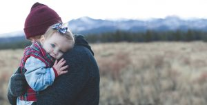 Holding Child